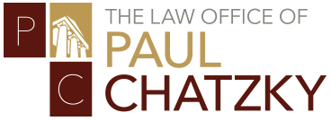 Law Offices of Paul Chatzky  Header Logo